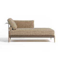 Victor chaise longue | Recamièren | Paolo Castelli