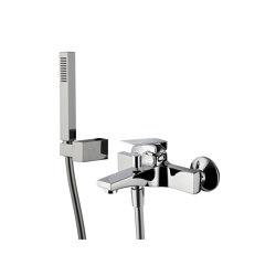 Fit F3384   Exposed bath mixer with shower set   Bath taps   Fima Carlo Frattini