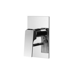 Fit F3389X2 | Single lever bath and shower mixer for concealed installation with 2 outlets diverter | Shower controls | Fima Carlo Frattini