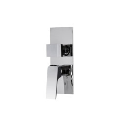 Fit F3389X6 | Built-in mixer with 2/3 outlets diverter | Shower controls | Fima Carlo Frattini