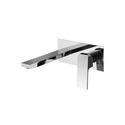 Fit F3391LX5 | Wall mounted wash basin mixer | Wash basin taps | Fima Carlo Frattini
