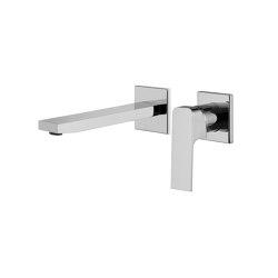 Fit F3391LX8 | Wall mounted wash basin mixer | Wash basin taps | Fima Carlo Frattini