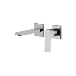 Fit F3391X8 | Wall mounted wash basin mixer | Wash basin taps | Fima Carlo Frattini