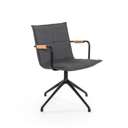 Lab YC leather arm chair | Chairs | Inno