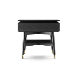 Alfio comodino | Night stands | black tie