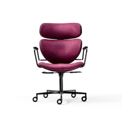 Asia office armchair | Stühle | black tie