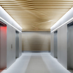 COMPwood Aluminium lightweight panels | Ceiling panels | Lindner Group