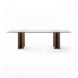 Alan botte cristallo | Dining tables | Porada