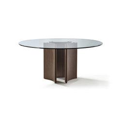 Alan tondo cristallo | Dining tables | Porada