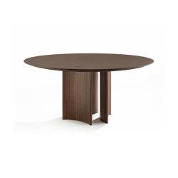 Alan tondo legno | Dining tables | Porada