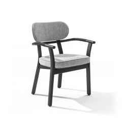 Evelin con braccioli | Chairs | Porada