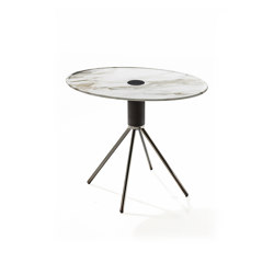 Jelly marmo h40 ovale | Side tables | Porada