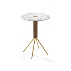 Jelly marmo h40 tondo | Side tables | Porada