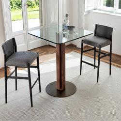 Quadrifoglio bistrot h105 quadrato | Tavoli alti | Porada
