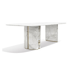 Ercole Oval Table | Dining tables | Capital
