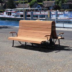 Klosterhof Double bench | Bancos | BURRI