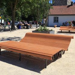 Klosterhof  lounger | Bancos | BURRI