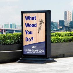 Advertising displays | Wayfinding