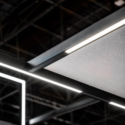 Acoustic Frames | Sound absorbing ceiling systems | MODULAP