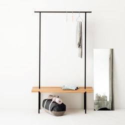 Garderobe Eiche 01 | Benches | weld & co