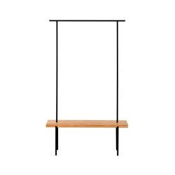 Garderobe Eiche 01 | Sitzbänke | weld & co