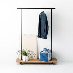 Kleiderstange Eiche 01 | Coat racks | weld & co