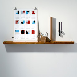 Oak 01 Wall Shelf | Shelving | weld & co
