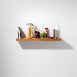 Oak 01 Wall Shelf | Scaffali | weld & co