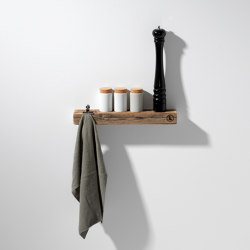 Reclaimed Wood 02 Picture Ledge | Picture hanging systems | weld & co