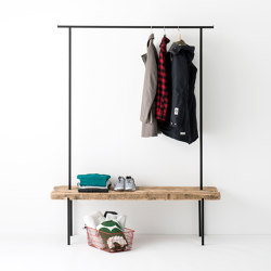 Reclaimed Wood 01 Coat Rack | Panche | weld & co