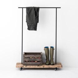 Reclaimed Wood 01 Clothes Rack | Percheros | weld & co