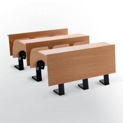 Banco Ateneo con piede centrale | Auditorium seating | Caloi by Eredi Caloi