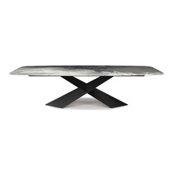 Tyron Crystalart | Dining tables | Cattelan Italia