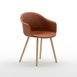 Màni Armshell Fabric 4WL | Stühle | Arrmet srl