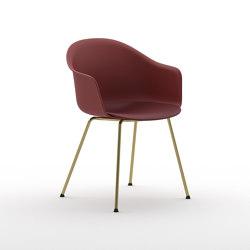 Màni Armshell Plastic 4L ns | Stühle | Arrmet srl
