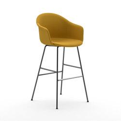 Màni Armshell Fabric ST 4L | Bar stools | Arrmet srl