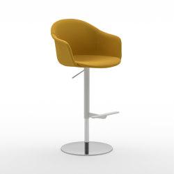 Màni Armshell Fabric ST ADJ | Bar stools | Arrmet srl