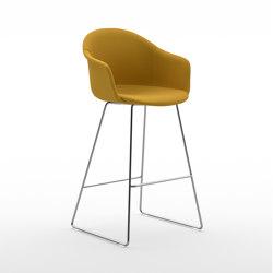 Màni Armshell Fabric ST SL | Bar stools | Arrmet srl