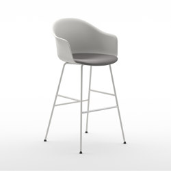 Màni Armshell Plastic ST 4L | Bar stools | Arrmet srl