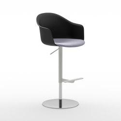 Màni Armshell Plastic ST ADJ | Bar stools | Arrmet srl