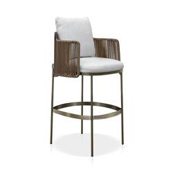 Tape Cord Outdoor Stool | Bar stools | Minotti