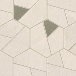 Boost Pro Ivory Mosaico Hex Olive 25x28,5 | Ceramic mosaics | Atlas Concorde
