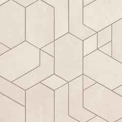 Boost Pro Ivory Mosaico Shapes 31x33,5 | Ceramic mosaics | Atlas Concorde