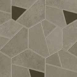 Boost Pro Taupe Mosaico Hex Coffee 25x28,5 | Ceramic mosaics | Atlas Concorde