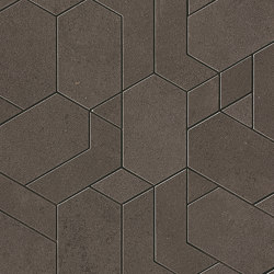 Boost Pro Tobacco Mosaico Shapes 31x33,5 | Ceramic mosaics | Atlas Concorde