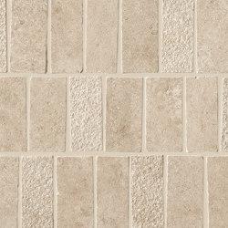 Lims Beige Mosaico Spritz Tumbled 30,4x33,5 | Ceramic tiles | Atlas Concorde