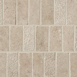 Lims Grey Mosaico Spritz Tumbled 30,4x33,5 | Ceramic tiles | Atlas Concorde