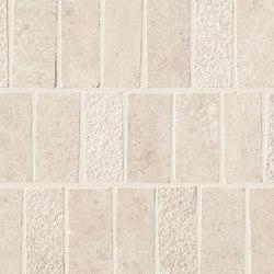 Lims Ivory Mosaico Spritz Tumbled 30,4x33,5 | Ceramic tiles | Atlas Concorde