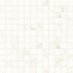 Marvel Shine Calacatta Delicato Mosaico 30x30 Lapp | Baldosas de cerámica | Atlas Concorde
