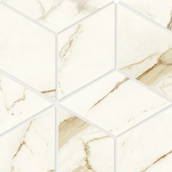 Marvel Shine Calacatta Imperiale Esagono 30x35 Lapp | Ceramic tiles | Atlas Concorde
